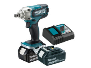 ||||||||||6010010116-MAKITA-DTW190RFE-1-2in-18V-LI Makita Li-Ion Battery Impact Wrench 2x18V-3.0Ah 190N.m BL1830+DC18RC