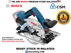 6010010135-BOSCH-Solo GKS18V-57 Bosch Cordless Circular Saw 06016A22L0