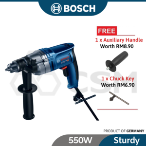 6010050003-BOSCH GBM13HRE Drill 13mm 550W 250V 0601049603 (1)