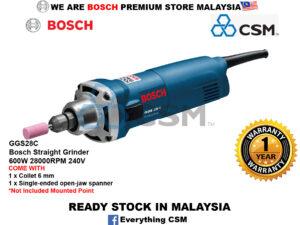 ||||||||||||||||||||||6010070001-BOSCH-GGS28C Bosch Straight Grinder 600W 28000RPM 240V 0601220070||||||||||||