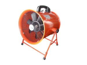 6010090050-ICASU-PEF12A-12in A-Stand Red Icasu Portable Blower 240V