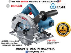 ||||||||||||||||||||6010100108-BOSCH-GKS600-165mm-COC Bosch Circular Saw 1200W 240V 06016A90L0