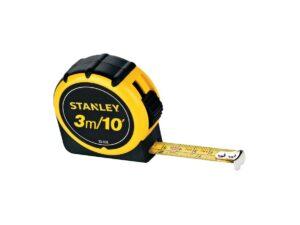 6020130338-STANLEY-30-608L 3M Stanley Lacquer Bi-Material Mesuring Tape