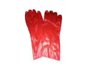 6030040028-CSM-1pr 14in Red PVC Glove #7003 M21