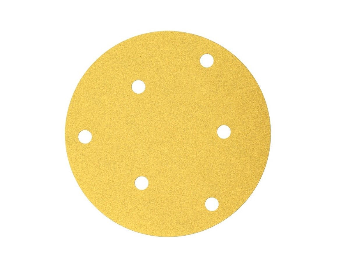 604003012301-BOSCH-100p G220 125mm 6Holes Velcro Bosch Sanding Disc 2608608T57