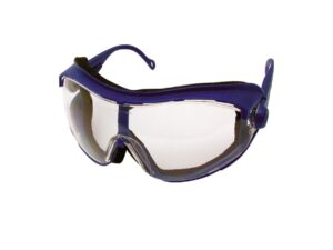 8030020003-KENNEDY-KEN9608060K Cobra Blue Specs Clear Lens Impact-Anti-Fog