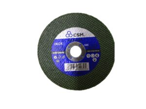 6040070087-CSM-1p 4inx1.0mm Inox CSM Green Cutting Disc 100x1x16mm
