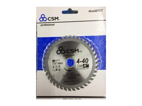 6050060065-CSM-CSB430-4inx30TCT CSM Circular Saw Blade