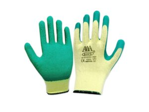 603004004801-CSM-12pr 7105 Green Latex CSM Glass Glove
