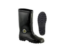 6030080427-CSM-UK6-6000 Black Rubber Shoes