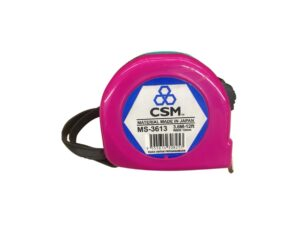 6020130231-CSM-MS3613-3.6M-12ft ABS Steel CSM Measuring Tape