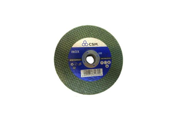 604007008701-CSM-50p 4x1.0mm Inox CSM Green Cutting Disc 100x1x16mm