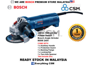 ||||||||||||||||||||||||||||||||||6010070087-BOSCH-GWS9-100P-HD 4in Paddle Switch Bosch Angle Grinder 900W 240V 06013965L0