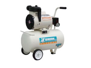 6010180003-SWAN-DR-115-22L Swan Oil Free Air Compressor With 1.5HP 220V Taiwan Motor & Certifical