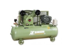 6010180005-SWAN-SVP-203 Swan Air Compressor With 3HP 4P 415V Taiwan Motor & StD Acc