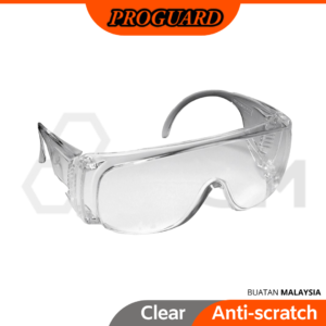 6030020065-PROGUARD-VS2000C-Clear-Frame-Visitor-Proguard-Safety-Goggles