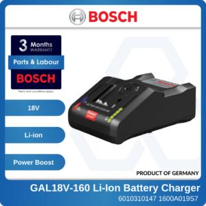6010310147 - BOSCH GAL18V-160 Li-Ion Battery Charger 1600A019S7 (1)