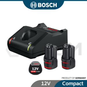 6010310479-BOSCH Solo 2p 12V2.0H+GAL12V-40 Bosch Li-Ion Battery With Charges Starter Kit 1600A01B8Y (2)
