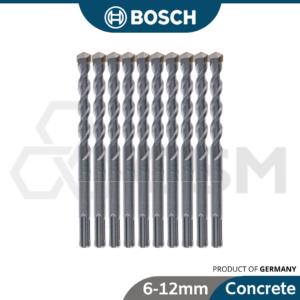 6050050386 BOSCH 10p SDS+ Concrete Drill Bit Set [6mm, 8mm, 10mm, 12mm]
