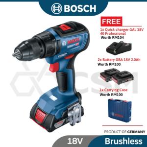 6010010184-BOSCH GSR18V-50-HD 18V2.0Ah Li-Ion Battery Screwdriver 06019H50L0 (5)