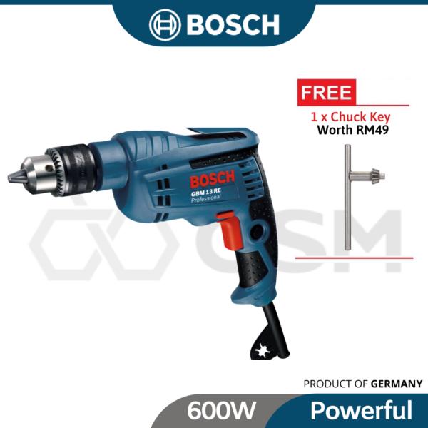 6010050011-GBM13RE Bosch Drill 600w0-2600rpm240v 06014775L0 (1)