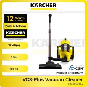 6010090061-KARCHER VC3-Plus Multi-Cyclone Bagless Vacuum Cleaner 1100W 1.198-128 (1)