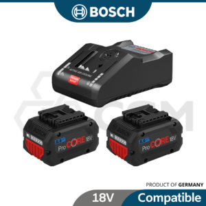 6010310009-ProCORE 2p 18V8.0AH+GAL18-160C Bosch Li-Ion Battery With Charges Starter Kit 1600A016GR (1)