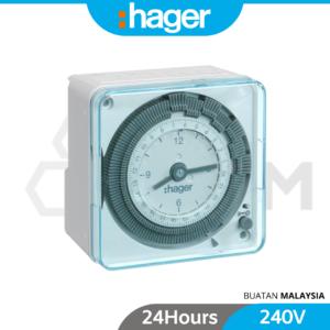 6120110108-EH711 Hager 24Hour Build In Timer 240V (2)