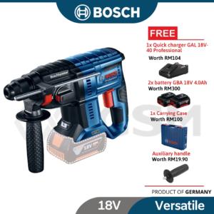 6010010190-BOSCH GBH180-LI-COC Bosch Brushless Li-Ion Battery Rotary Hammer cw 2x4.0AH & GAL1840CV 06119111L2 (2)