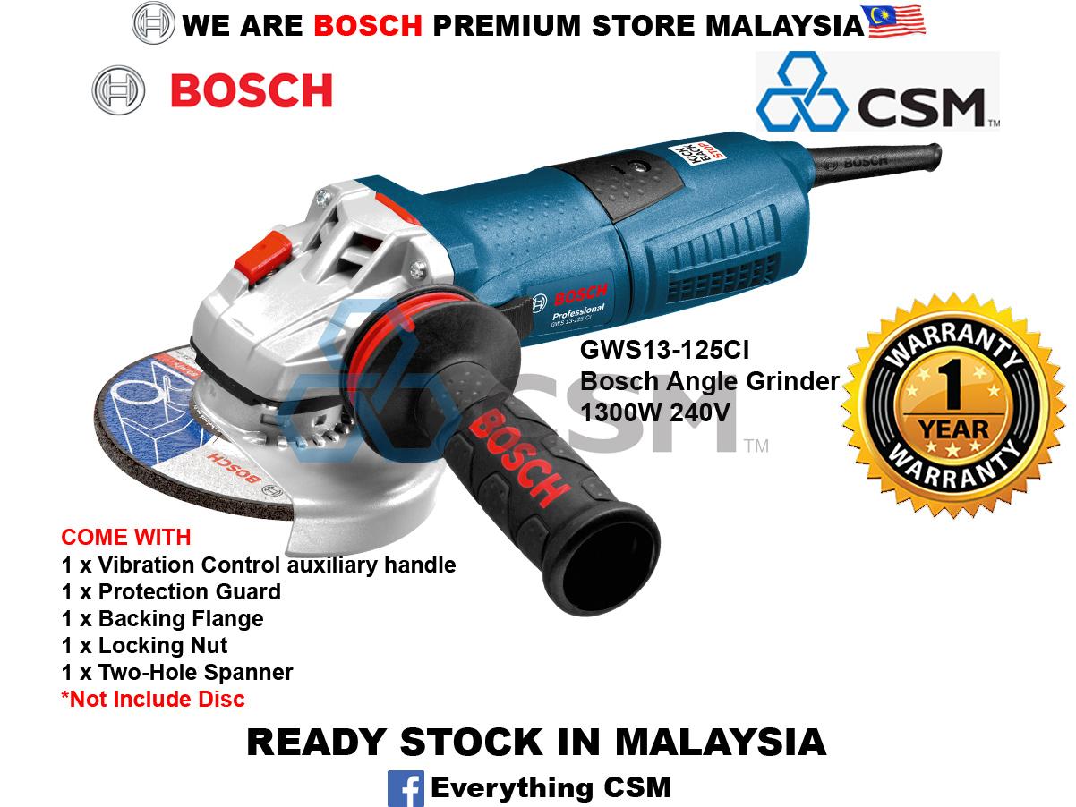 6010070008-BOSCH-GWS13-125CI Bosch Angle Grinder 1300W 240V 060179E002