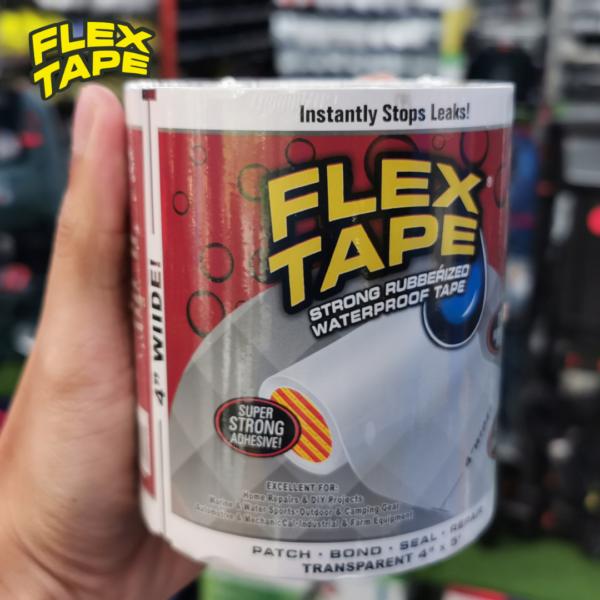 CSM FLEX TAPE Waterproof Flexible Sealing Tape Pelekat Stiker Sticker Kalis Air Tampal Tutup Lubang Bocor[100 200 300mm]