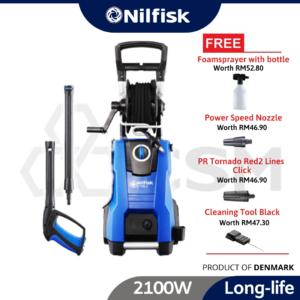 6010090100-E 150.2-10 H X-TRA UK Nilfisk High Pressure Washer 2100W 240V 128471201