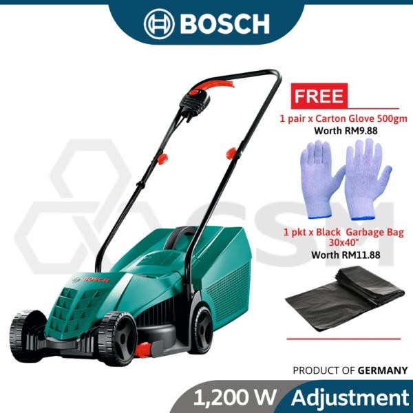 Rotak32-12 Bosch Rotary Lawn Mower 320mm1200w240v 06008A6078 (1)
