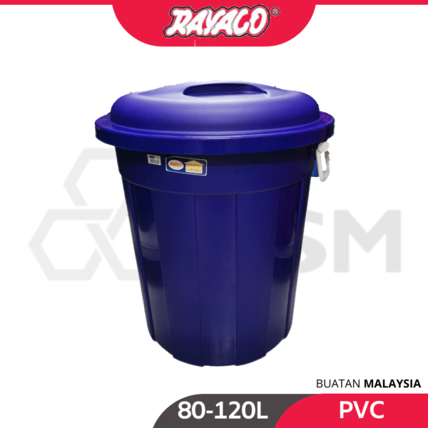 6110100232-RAYACO Multipurpose PVC Water Pail With Handle [80-120L] (1)