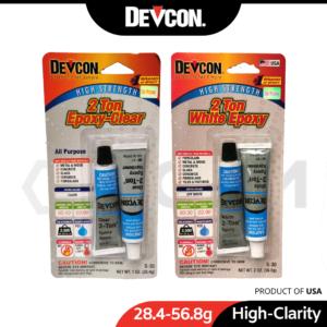 6070020008-DEVCON 2T-S35 2T-S30 Clear White All Purpose Epoxy [28.4-56 (1)