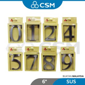 6110070258-CSM Nail SUS Integers 0 1 2 3 4 5 6 7 8 9 [6''] (1)