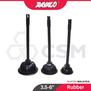 6110100434-RAYACO Toilet Rubber Pump [3 (10)
