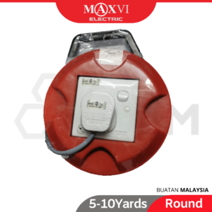 6120180029-MAXVI Round Cable Reel [5 7 10 Yards] (1)