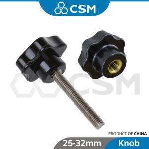 8080040124-CSM Internal External Thread Star Knobs M5 M6 M8 M10 M12 M16 [25-32mm_