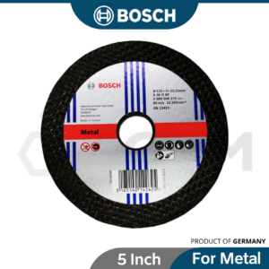 6040070052 - 5x3mm Bosch Cutting Disc 125x3x22.2mm 2608600270