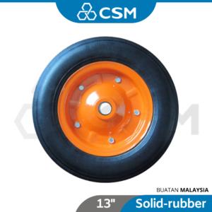 6080010031-CSM Steel Rim Solid Wheel Barrow (1)
