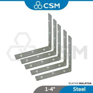 6080180145-CSM ZP Steel L Bracket 1x1'' 1x2'' 2x3'' 2x4'' 3x3'' 4x4'' [1pcs] (5)
