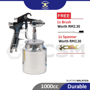 6090100107-SUMO KING SKSG20-2.0MM Suction Spray Gun With 1000cc Cup (1)