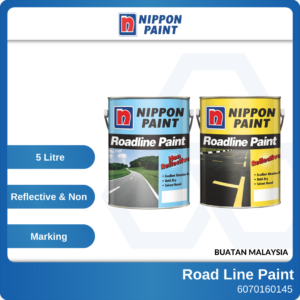 6070160145 - NIPPON N5L Yellow White Black Reflective Road Line Paint (1)