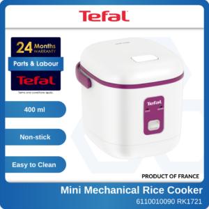 6110010090 RK1721 Tefal Mini Mechanical Rice Cooker (2 Cups)