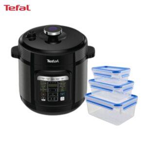 6110010101 CY601D65+K3028912 3p Tefal Home Chef SmartMulticooker + MasterSeal Set