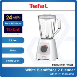 6110010115 - TEFAL BL4291 White Blendforce 2 Blender with 3Accessories