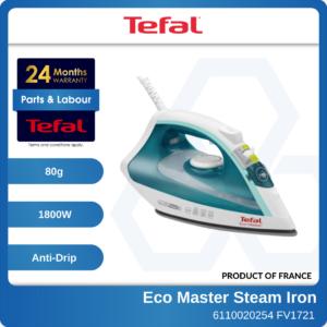 6110020254 - TEFAL FV1721 Eco Master Steam Iron