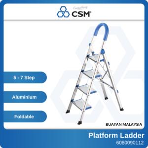 6080090113 - CSM 5 Step 6 Step 7 Step Aluminium Platform Ladder (6)
